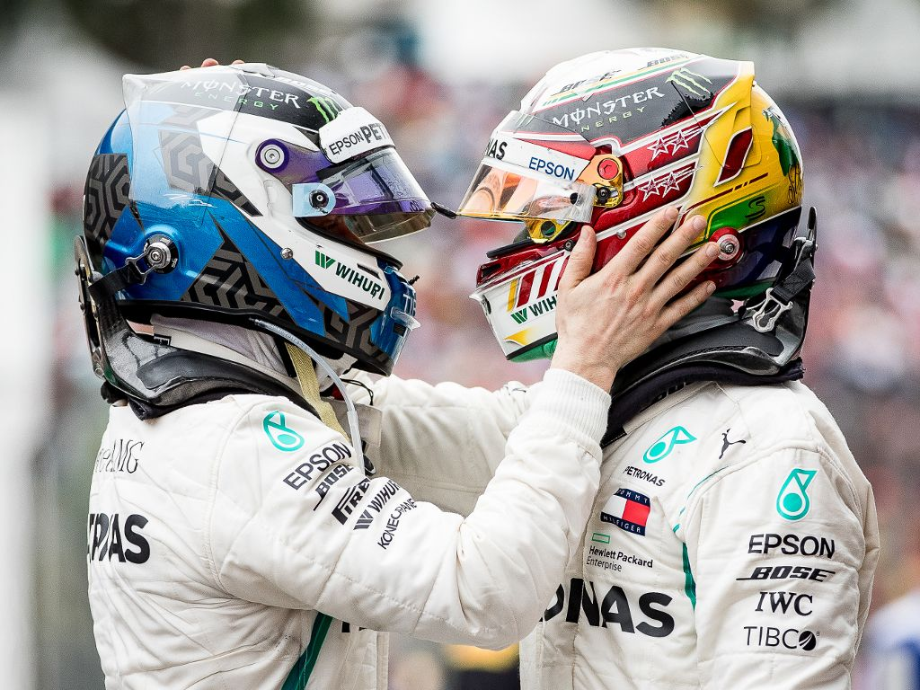 Nico Rosberg challenges Valtteri Bottas to 'annoy' Lewis Hamilton