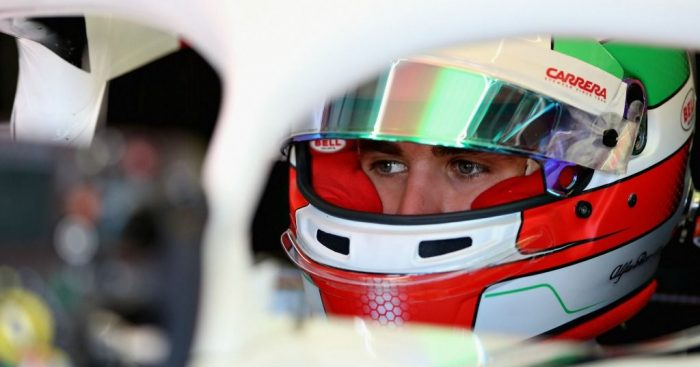 "Antonio Giovinazzi wants ""best of the rest"" with Sauber"