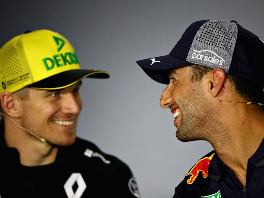 Marcin Budkowski: Nico Hulkenberg sees Daniel Ricciardo as an opportunity to prove himself.