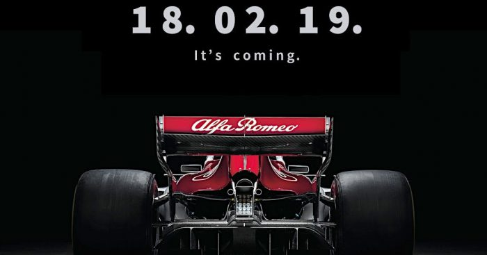 Sauber to be known as Alfa Romeo Racing from 2019