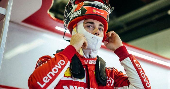 Charles Leclerc: Ferrari seat fit