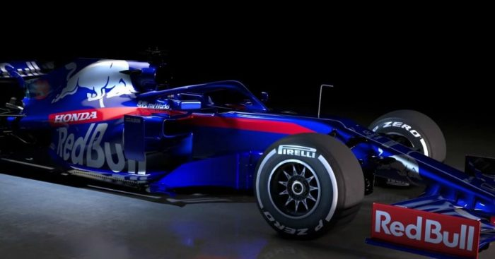 Toro Rosso officially unveil the STR14