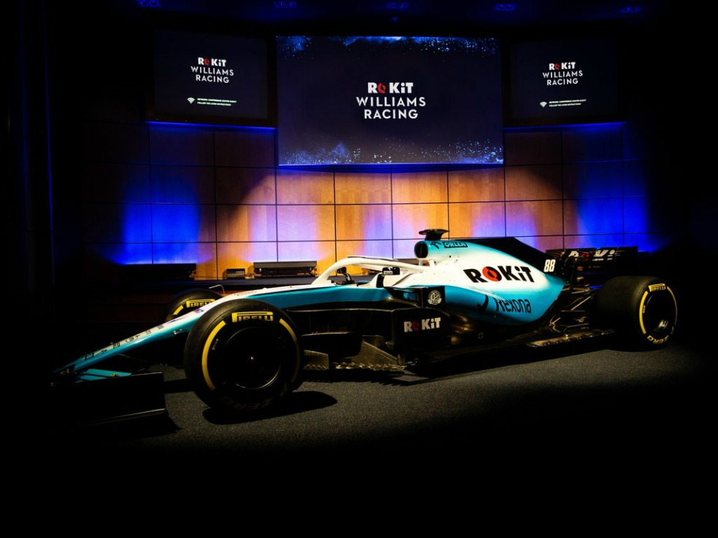 Williams turn electric blue for 2019
