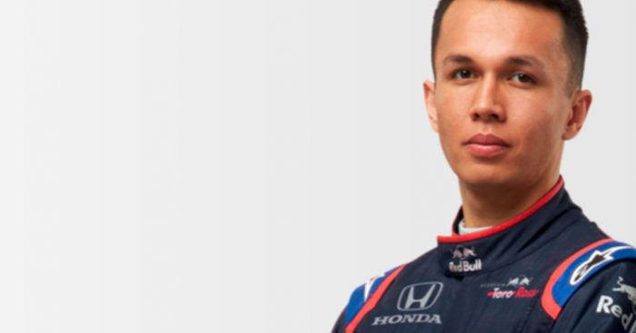 Q&A with Alex Albon ahead of his debut campaign