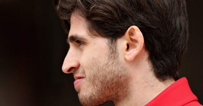 Antonio Giovinazzi 'lucky' to team up with Raikkonen
