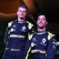 "Nico Hulkenberg has said life at Renault ""never gets boring"" with Daniel Ricciardo around."