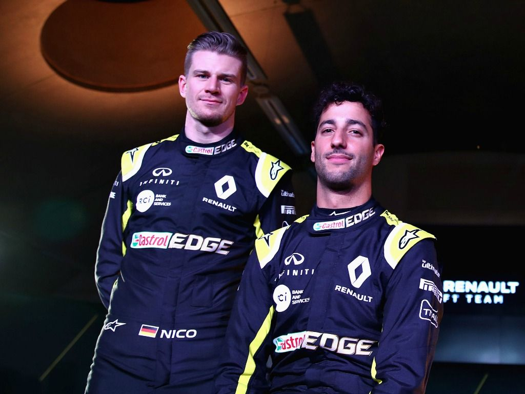 "Nico Hulkenberg has said life at Renault ""never gets boring"" with Daniel Ricciardo around."