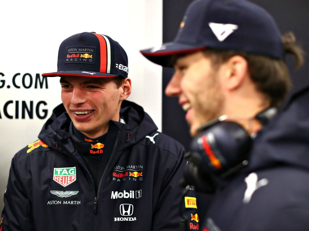 Max Verstappen: Happy with RB15