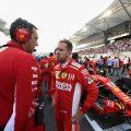 Sebastian Vettel will start the season as Ferrari's priority.