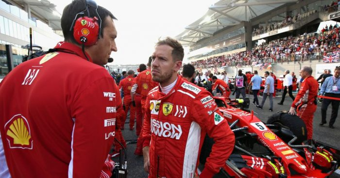 Sebastian Vettel will start the season as Ferrari's priority.