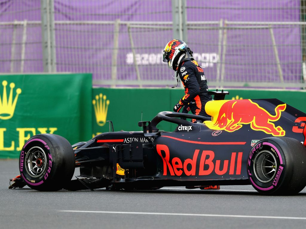 Daniel Ricciardo reveals Baku played a role in Red Bull exit