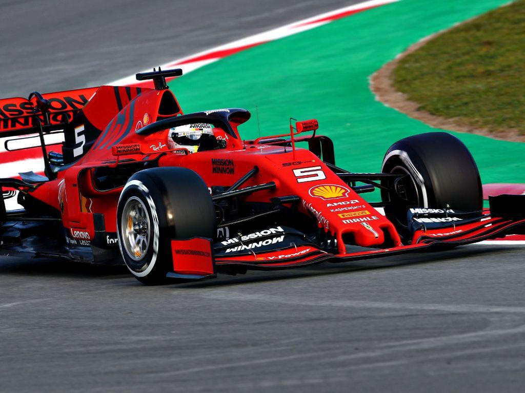 Sebastian Vettel blitzes last year's Day 1 time