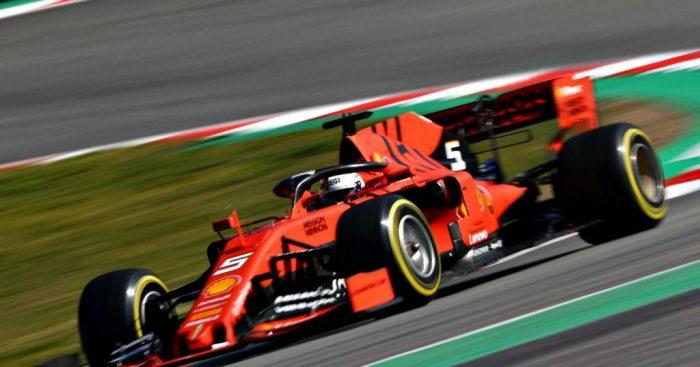 Sebastian Vettel: Tops charts on opening day