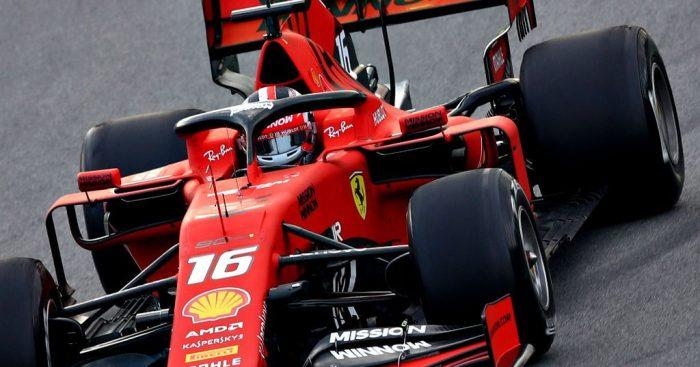Charles Leclerc keeps Ferrari on top at Barcelona