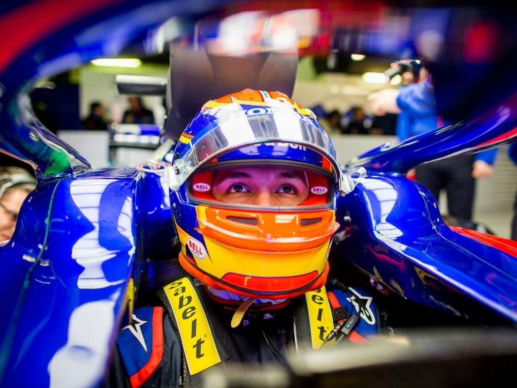Alexander Albon: Reassured after early spin