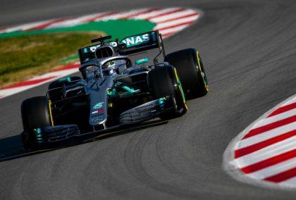 Mercedes: W10 displaying better balance