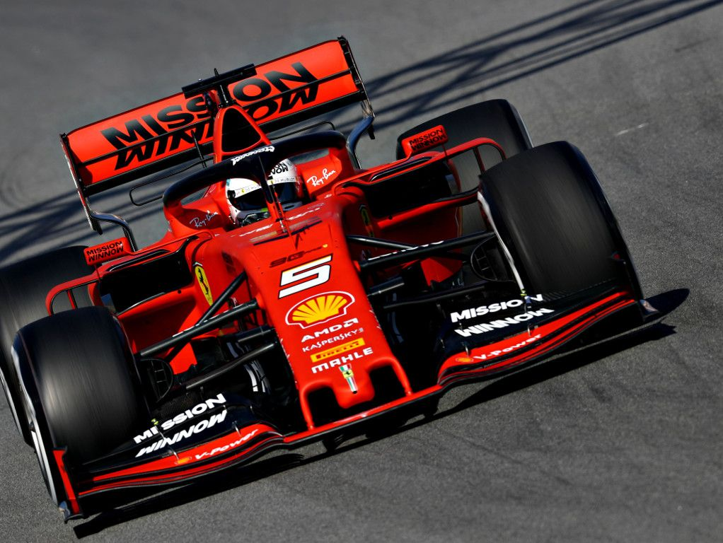 Sebastian Vettel not impressed by the front wings - really ugly
