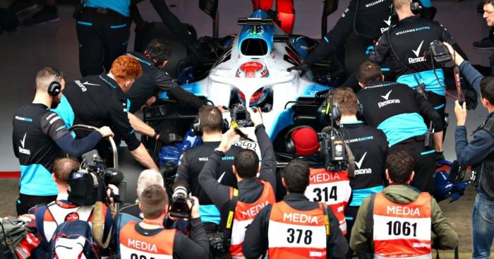 Williams: Up and running in Barcelona