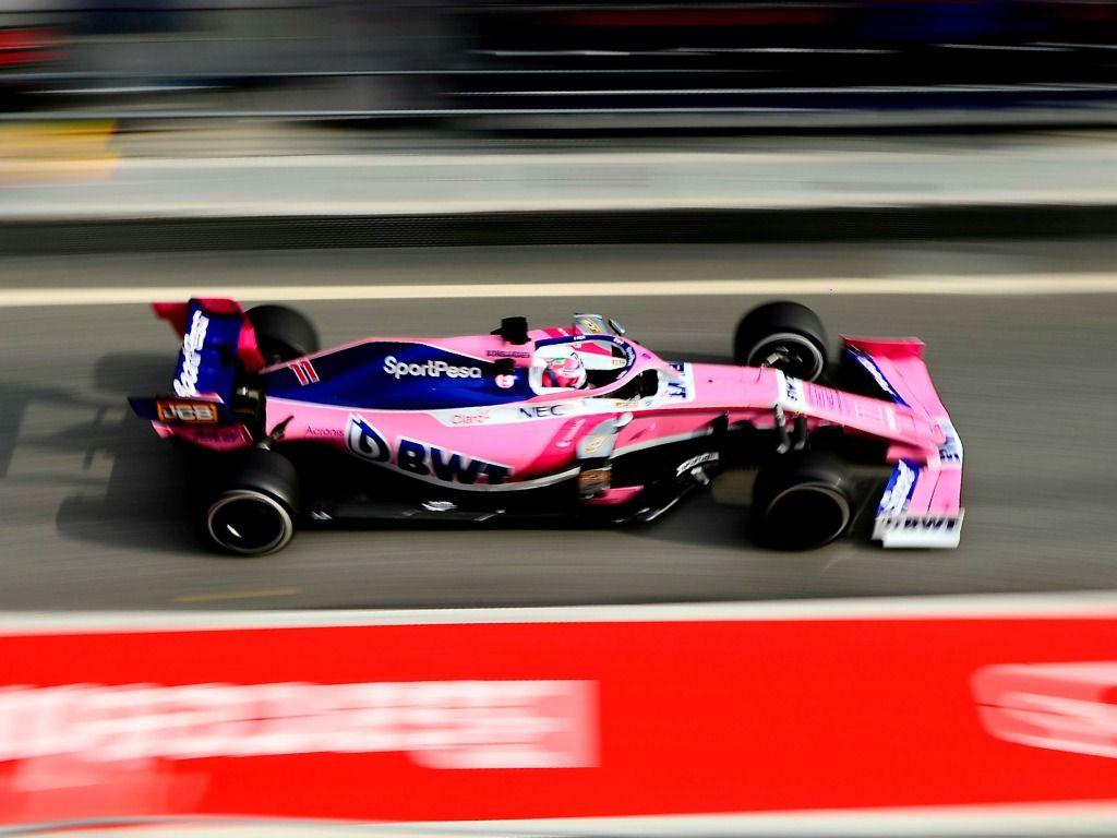 Sergio Perez: Lack of parts