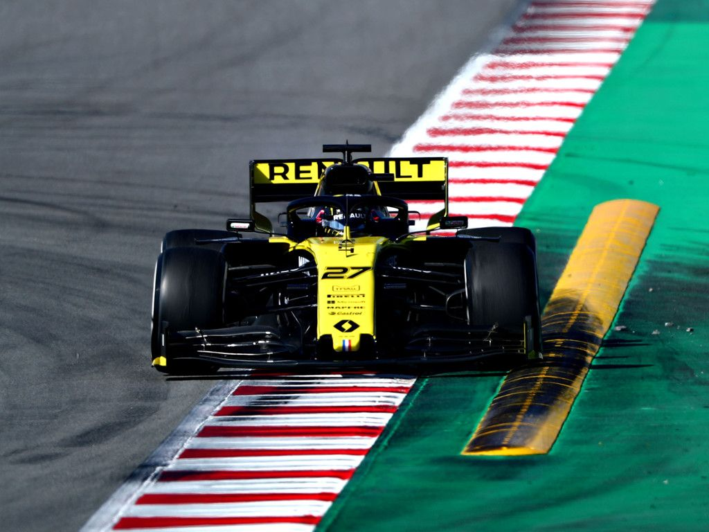 The new rear wing is like a parachute says Nico Hulkenberg.