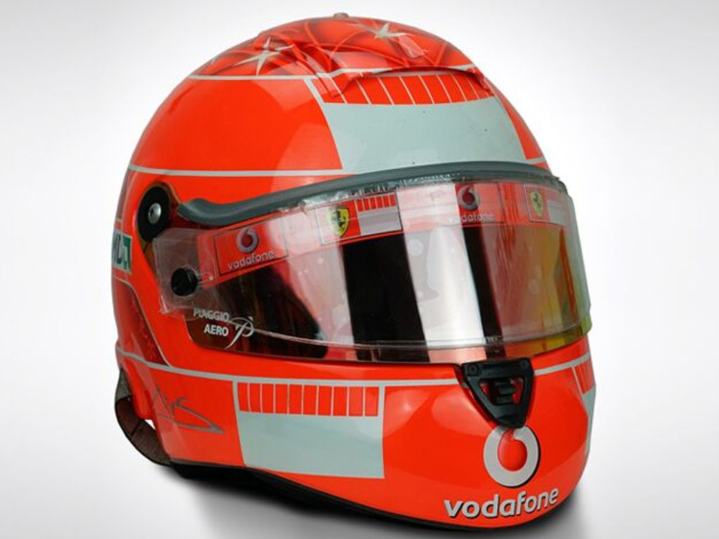 PF1 Shop: Iconic race-used F1 helmets for sale