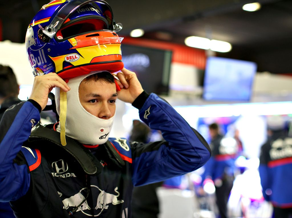 Alexander Albon is 'exceeding' Toro Rosso's expectations