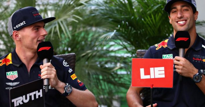 Daniel Ricciardo 'ran from a fight' with Max Verstappen