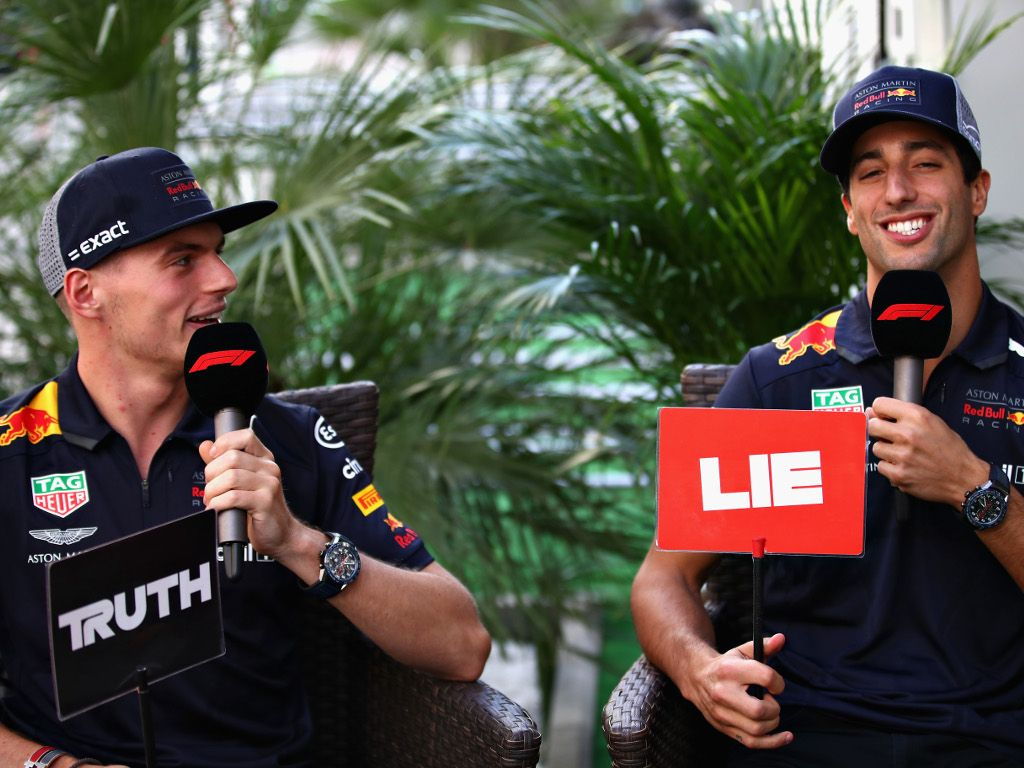 Daniel Ricciardo 'ran from a fight' with Max Verstappen