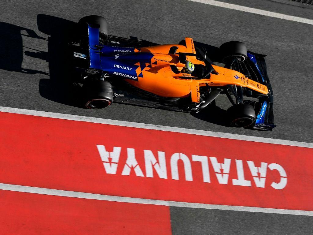 McLaren top as Ferrari and Mercedes suffer delays
