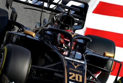 Kevin Magnussen has seen a big difference in his ability to follow cars in 2019.