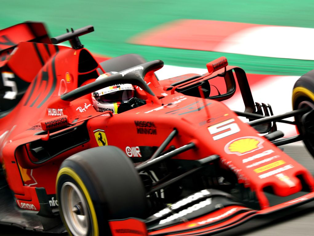 Sebastian Vettel 'wasn't in control' prior to crash