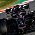 Romain Grosjean on rear wing: Parachute, sitting duck