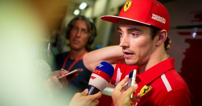 Charles Leclerc: Ferrari still not flat out