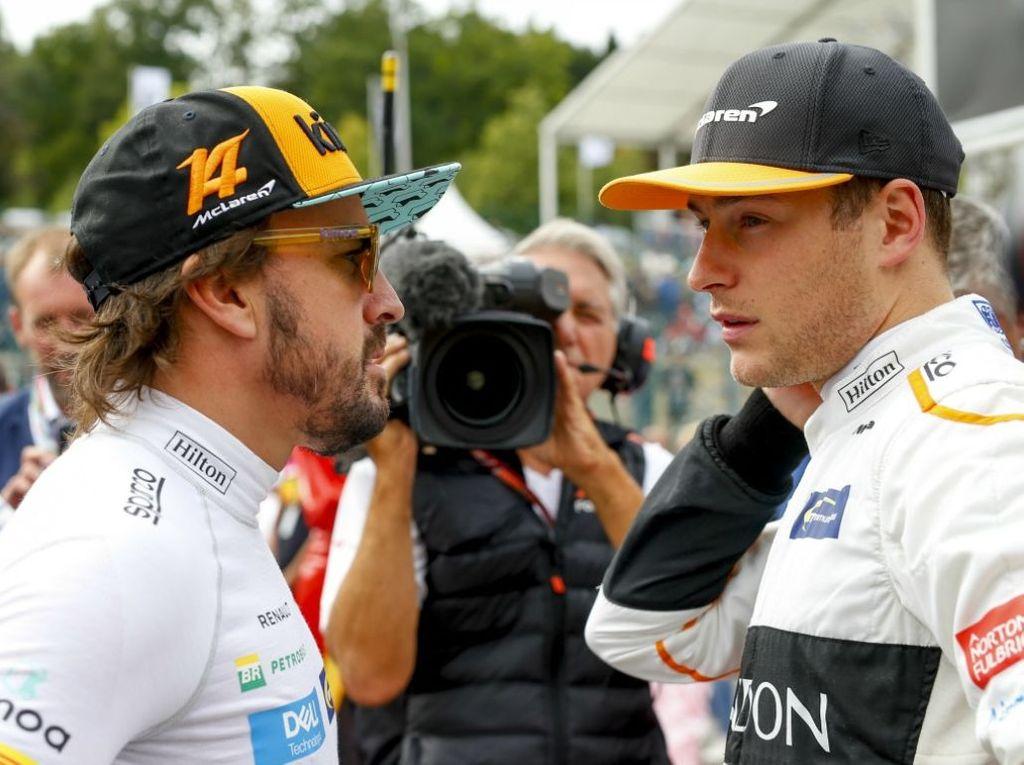 Stoffel Vandoorne says McLaren always gave Fernando Alonso everything he wanted.