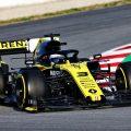 Daniel Ricciardo in action for Renault.