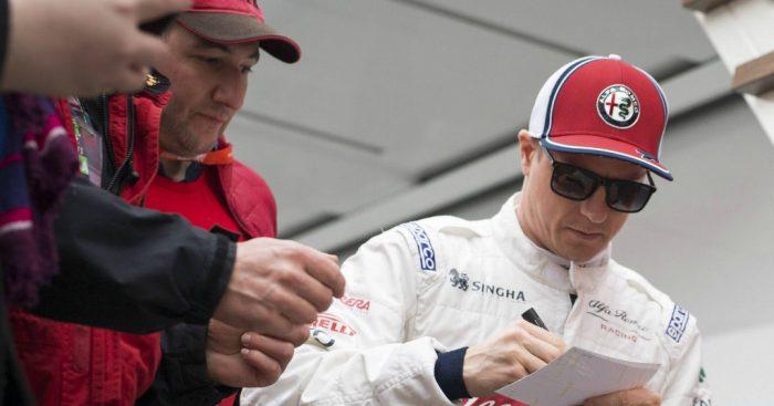 Kimi Raikkonen: Gatecrash the podium?