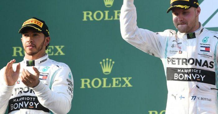 Valtteri Bottas is 'free' to fight Hamilton