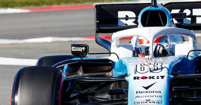 Williams forced to change several design elements before the Australian GP.