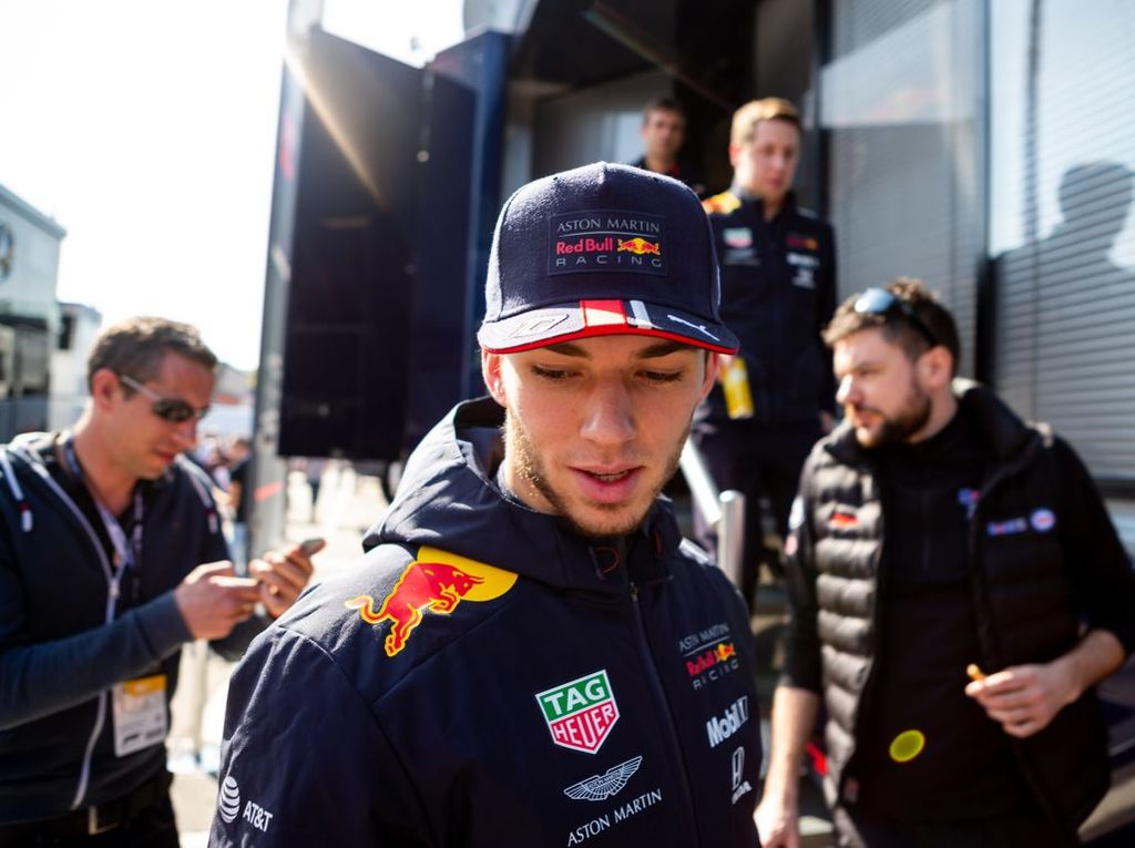 Pierre Gasly is not yet on Max Verstappen's level claims Dr Helmut Marko.