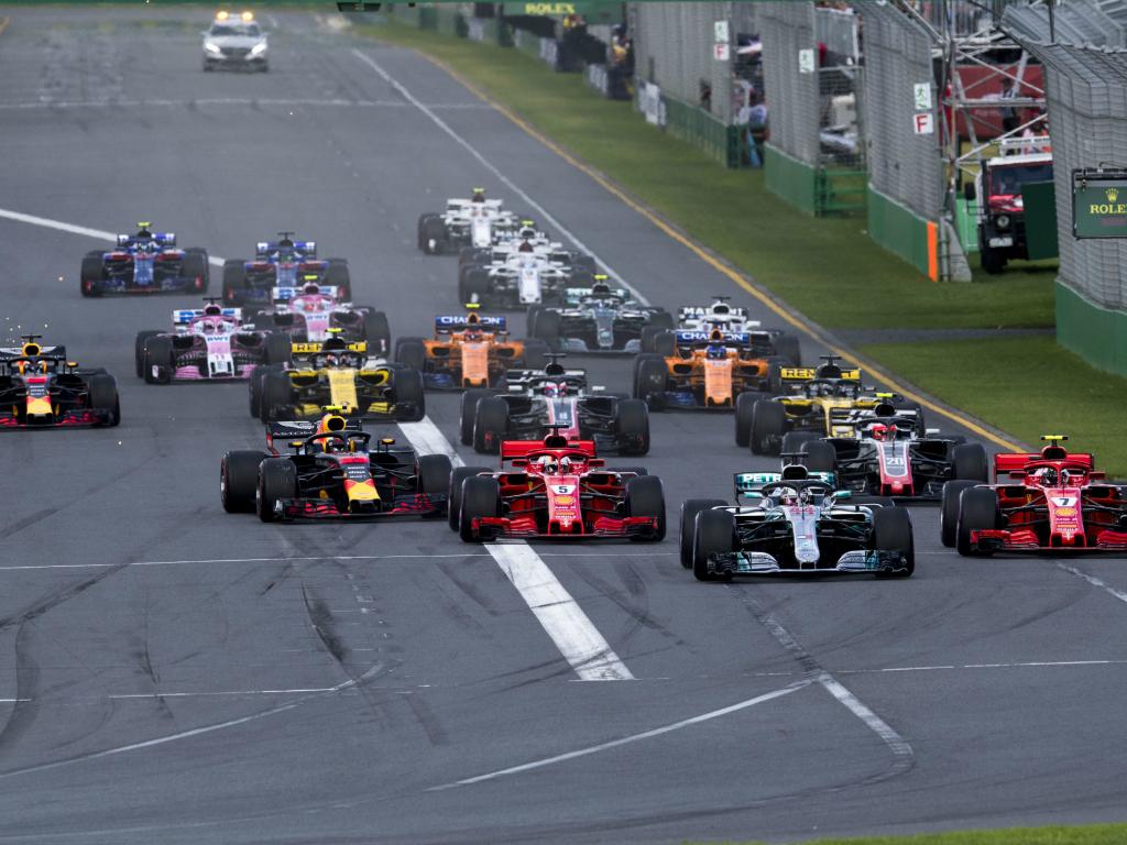 Australian Grand Prix start PA