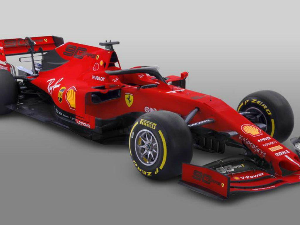 Ferrari: Special livery for Australia