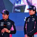Lance Stroll: Sergio Perez is pleasantly surprised