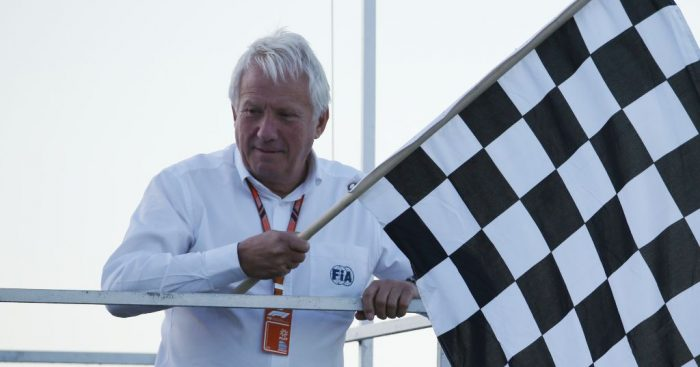Formula 1 pays tribute to Charlie Whiting