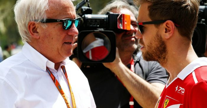 Sebastian Vettel: Charlie Whiting was a racer, a nice guy
