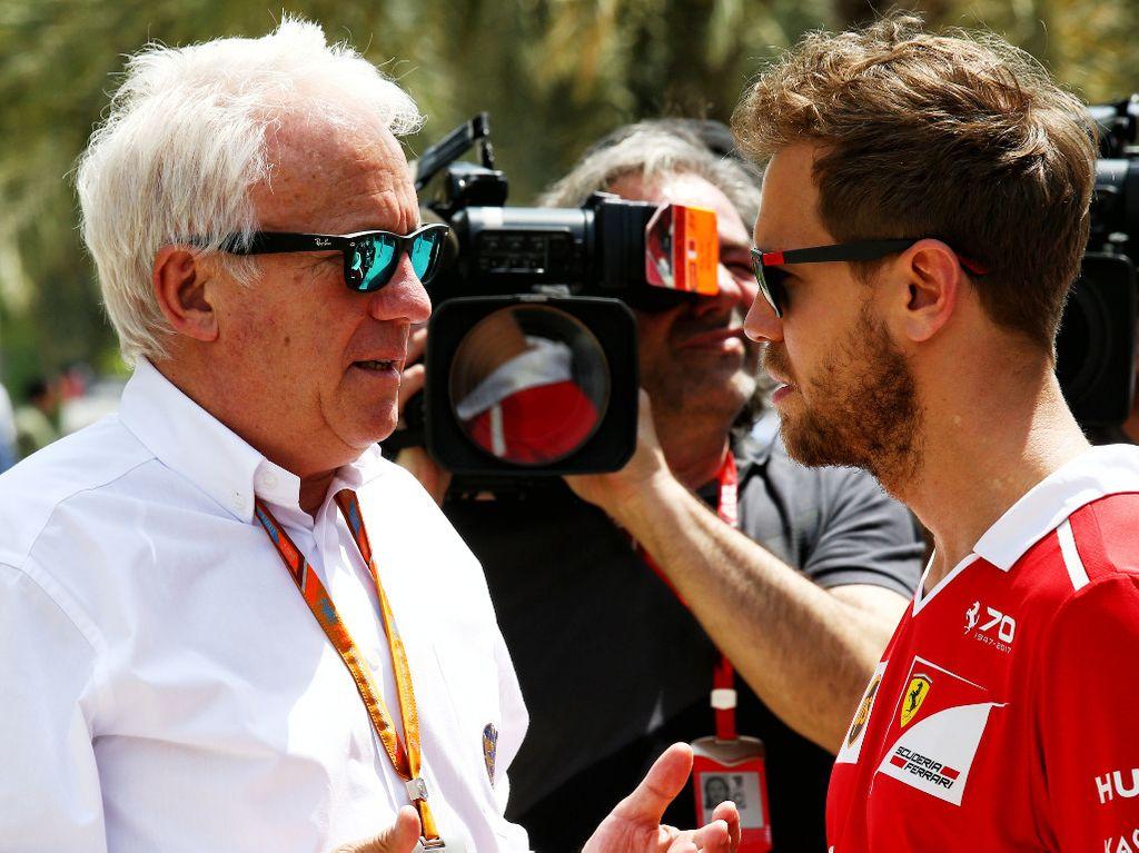 Sebastian Vettel: Charlie Whiting was a racer, a nice guy