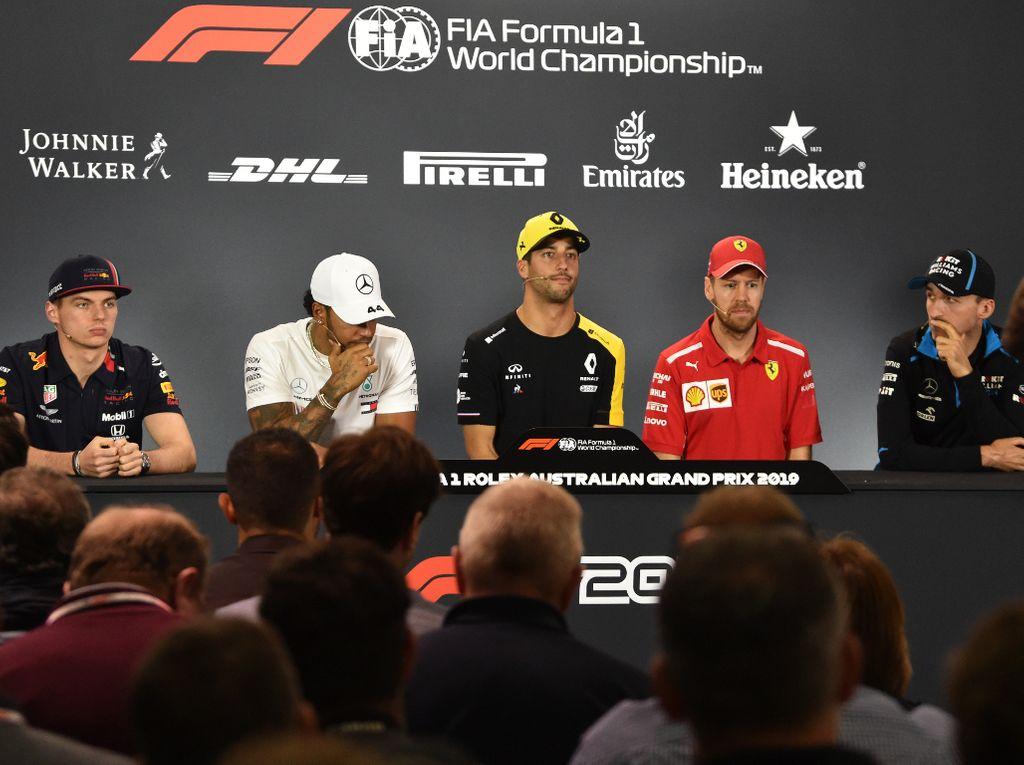 Thursday's Aus GP presser: Drivers speak