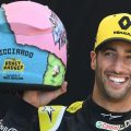Daniel Ricciardo presents his 2019 helmet design.