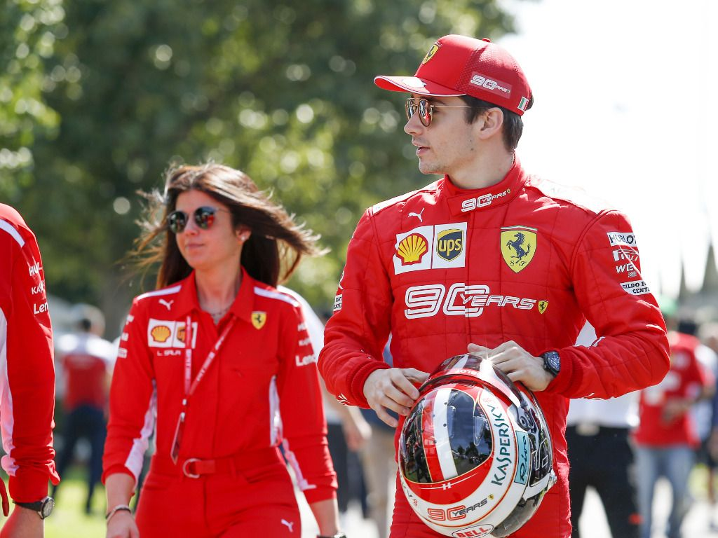 "Charles Leclerc claims his spin in FP2 was ""no big deal""."