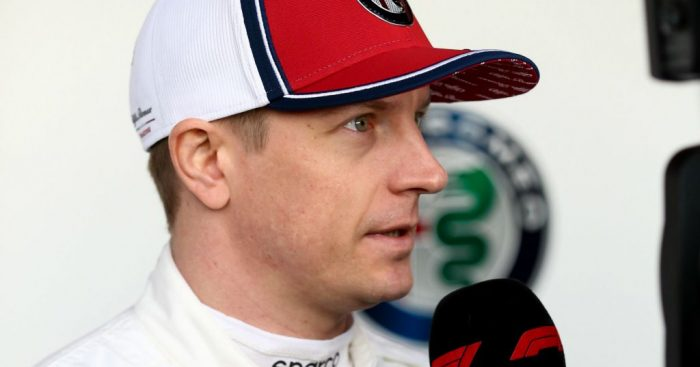 Kimi Raikkonen reminded reporters that he doesn't get excited after finishing P6 in FP1 and 2.