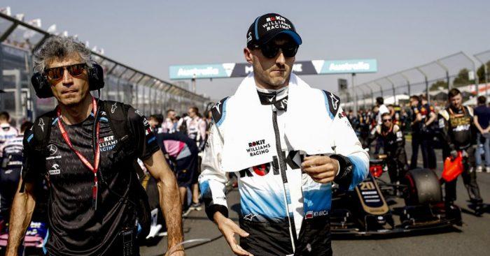 Robert Kubica had a moment of 'panic' on the grid